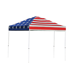 Pop-Up Canopy HD - Straight Leg - 10 x 10 ft. American Pride