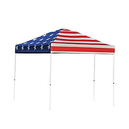 Pop-Up Canopy HD - Straight Leg - 10 x 10 ft. American Pride