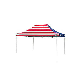 Pop-Up Canopy HD - Straight Leg - 10 x 15 ft. American Pride