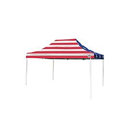 Pop-Up Canopy HD - Straight Leg - 10 x 15 ft. American Pride