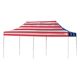 Pop-Up Canopy HD - Straight Leg 10 x 20 ft. American Pride