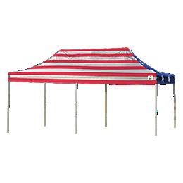 Pop-Up Canopy HD - Straight Leg 10 x 20 ft. American Pride