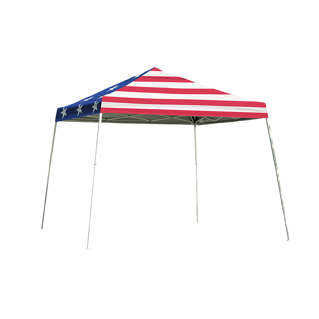 Pop-Up Canopy HD - Slant Leg 12 x 12 ft. American Pride