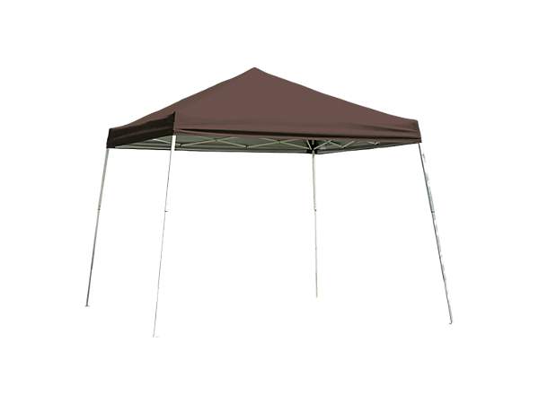 Pop-Up Canopy HD - Slant Leg 8 x 8 ft. Chocolate Brown