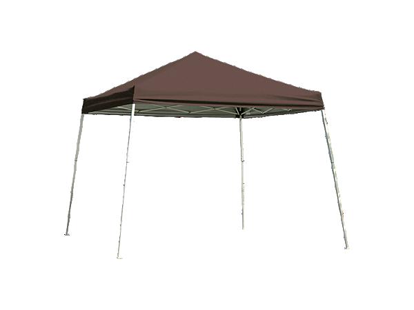 Pop-Up Canopy HD - Slant Leg 8 x 8 ft. Chocolate Brown