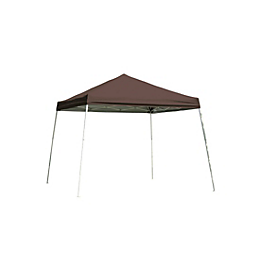 Pop-Up Canopy HD - Slant Leg - 10 x 10 ft. Chocolate Brown