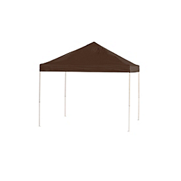 Pop-Up Canopy HD - Straight Leg - 10 x 10 ft. Chocolate Brown
