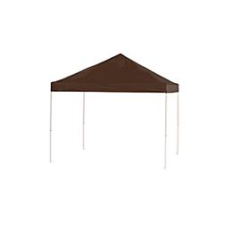 Pop-Up Canopy HD - Straight Leg - 10 x 10 ft. Chocolate Brown