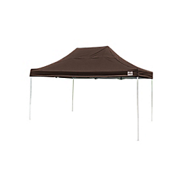 Pop-Up Canopy HD - Straight Leg - 10 x 15 ft. Chocolate Brown