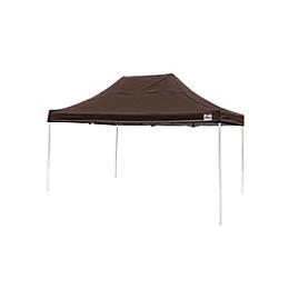Pop-Up Canopy HD - Straight Leg - 10 x 15 ft. Chocolate Brown
