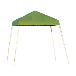 Pop-Up Canopy - Slant Leg - 8 x 8 ft. Spring Green