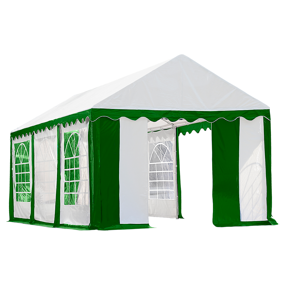 Enclosure With Windows Party Tent 10 X 20 Ft Canopies