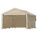 Enclosure Kit - Super Max Tan Canopy 12 x 26 ft.