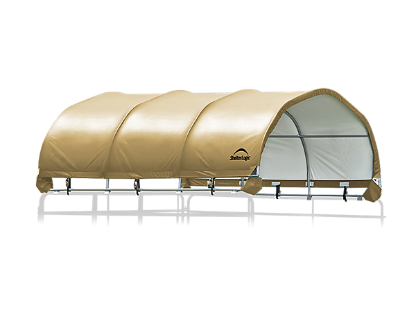 Corral Shelter 12 x 12 ft. Premium Powder Coated