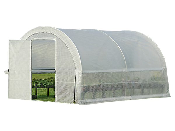 GrowIT® Organic Growers Pro RoundTop Greenhouse - Hinged Doors
