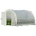 GrowIT® Organic Growers Pro RoundTop Greenhouse - Hinged Doors