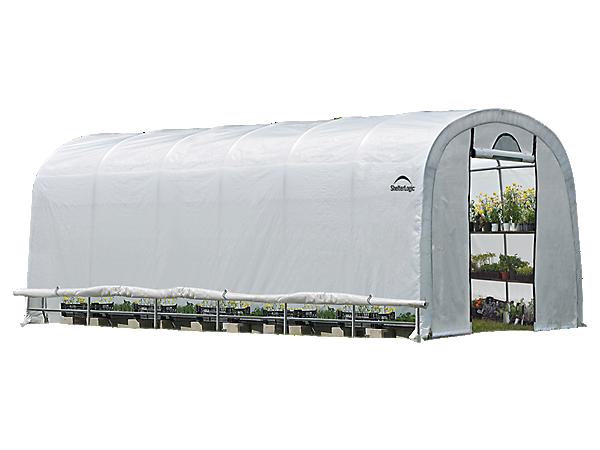 GrowIT® Heavy Duty Round Greenhouse 12 x 24 x 8 ft.