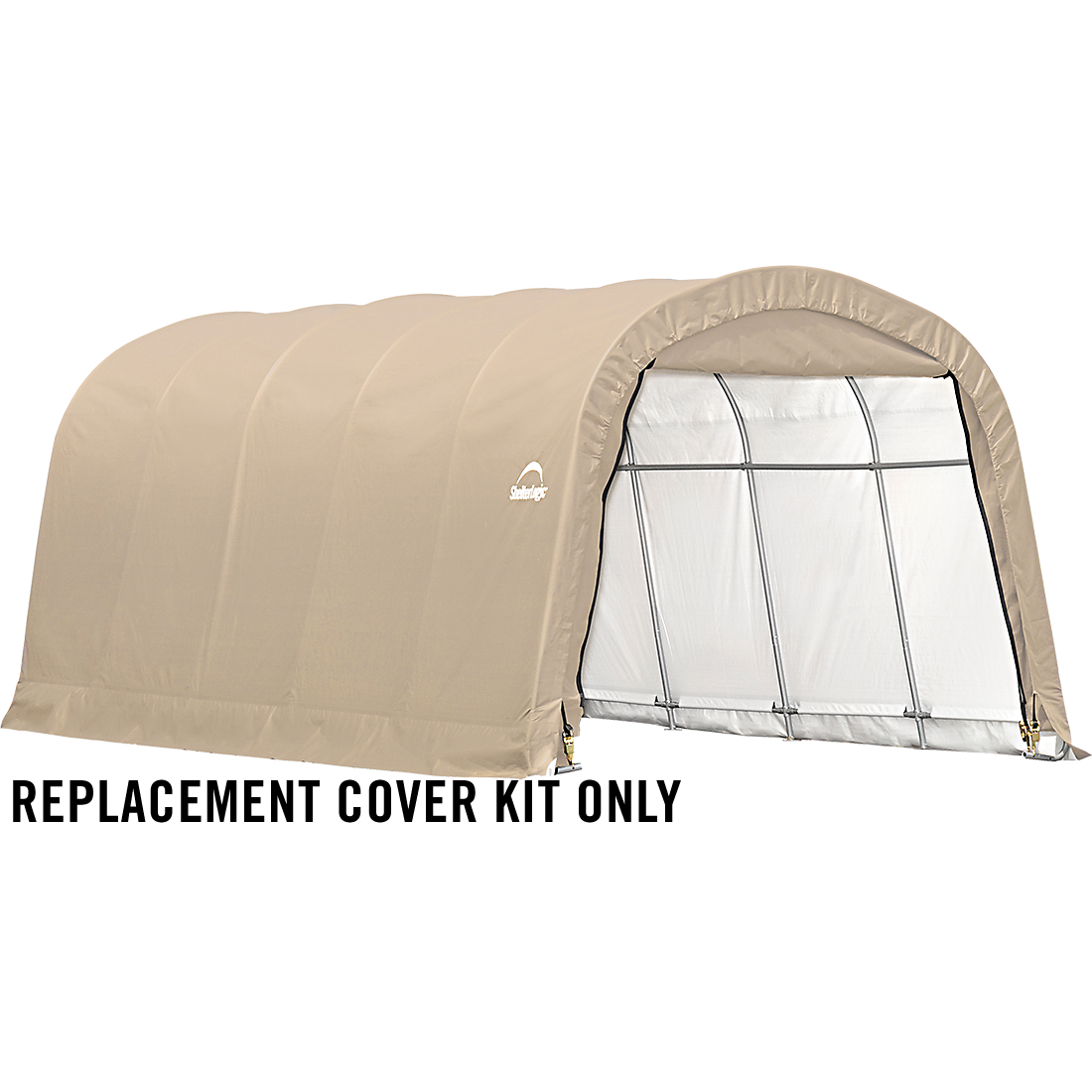 Shelterlogic Garage Replacement Covers : Replacement cover kit for the garage in a box roundtop