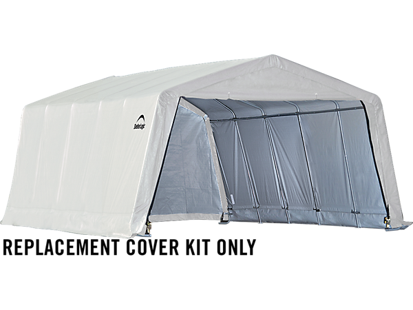 Shelterlogic Replacement Cover Kit : Replacement cover kit for the garage in a box ft