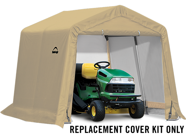 Shelterlogic Replacement Cover Kit : Replacement cover kit for the shed in a box ft