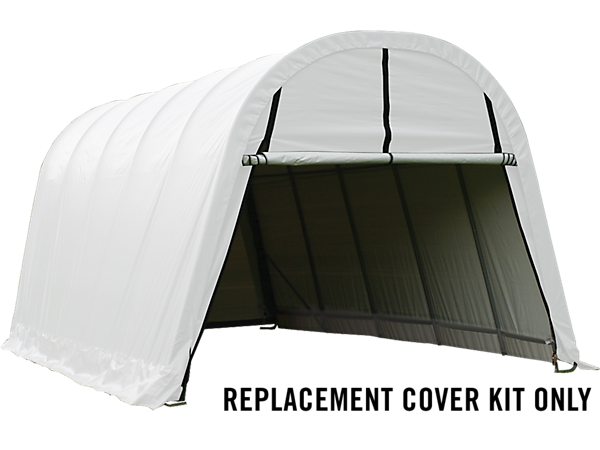 Shelterlogic Replacement Cover Kit : Replacement cover kit for the garage in a box round