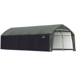 Accelaframe Garage  9oz PE 12x25x9 Green