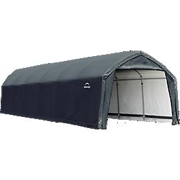Accelaframe Garage  9oz PE 12x30x9 Gray