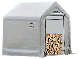 Firewood Seasoning Shed 5 x 3.5 x 5 ft.
