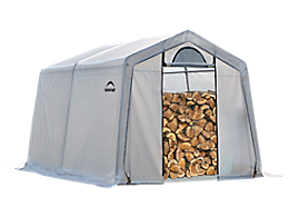 Firewood Seasoning Shed 10 x 10 x 8 ft.