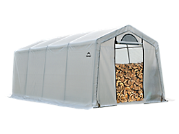 Firewood Seasoning Shed 10 x 20 x 8 ft.
