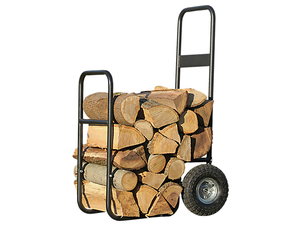 Haul-It Wood Mover - Rolling Firewood Cart
