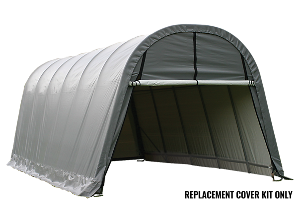 Portable Greenhouse Replacement Cover : Replacement cover kit for the garage in a box round