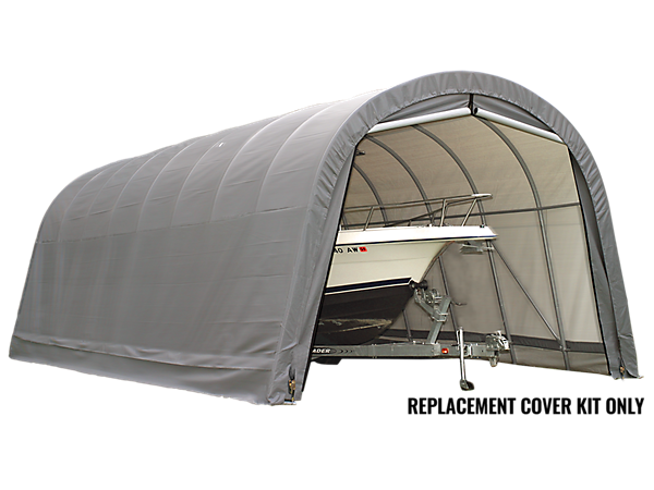 Replacement Cover Kit for the Garage-in-a-Box® Round 14 x 32 x 12 ft.