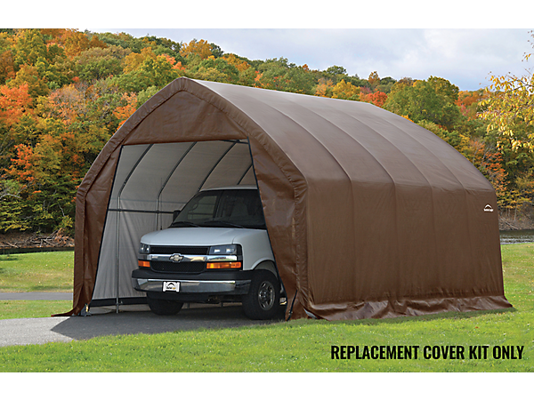 Shelterlogic Replacement Cover Kit : Replacement cover kit for the garage in a box suv truck