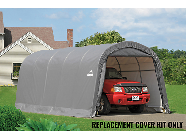 Replacement Tarps Round Top Shelters : Replacement cover kit for the garage in a box roundtop