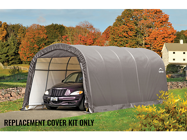 Replacement cover kit for the garage in a box roundtop 12 for 20 x 25 garage kits