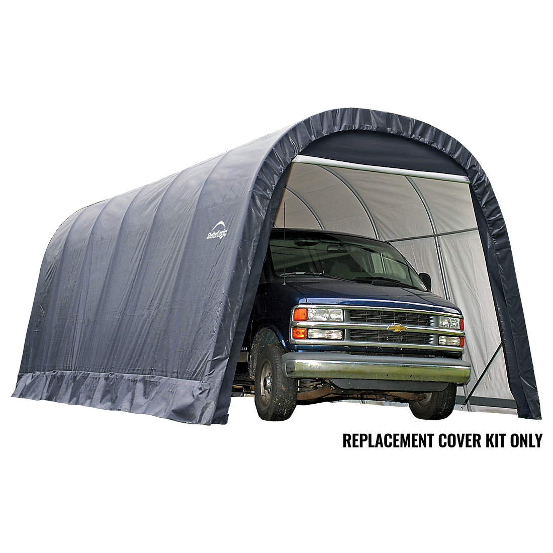 Replacement Cover Kit for the Round Garage-in-a-Box® 15 x 40 x 16 ft.