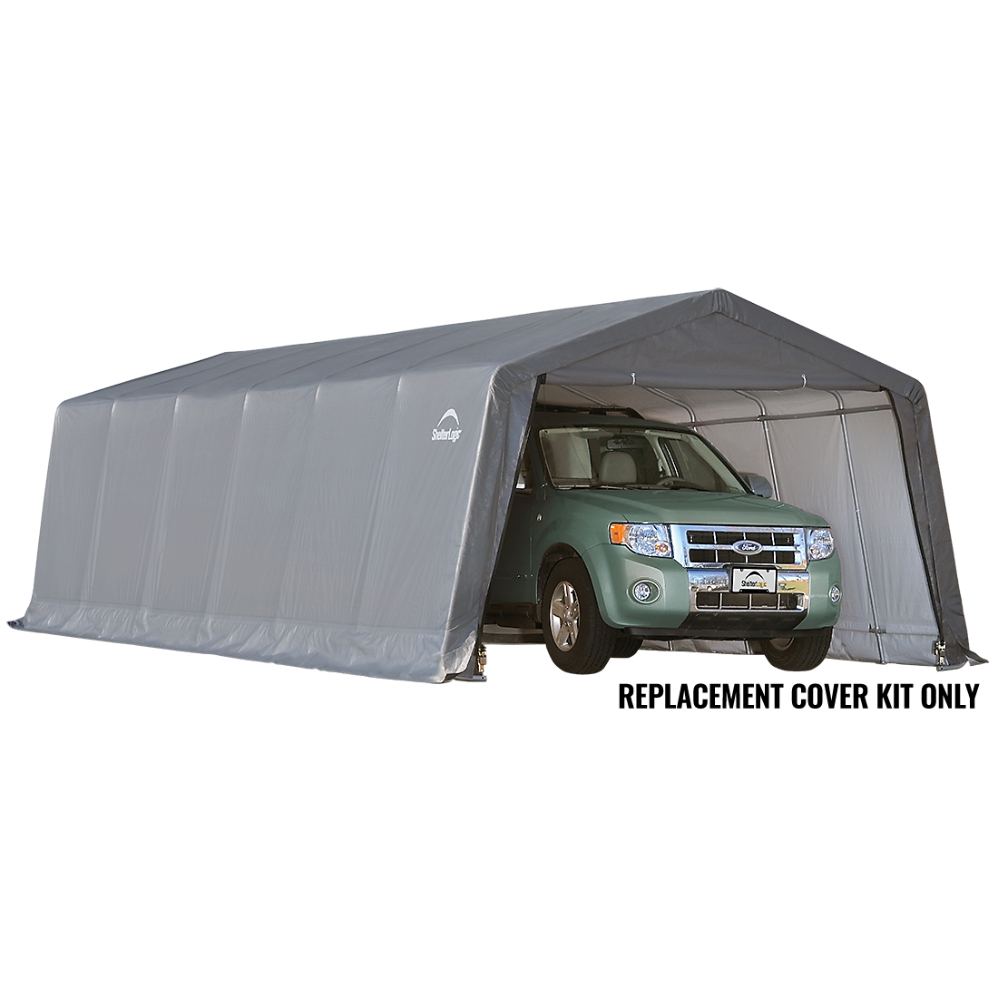 Replacement Cover Kit for the Garage-in-a-Box Peak 12 x 24 x 8 ft.