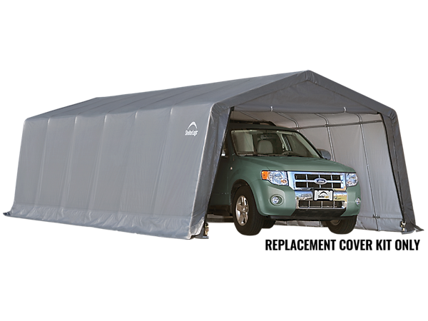 Shelterlogic Garage Replacement Covers : Replacement cover kit for the garage in a box peak