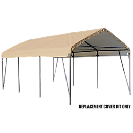 Replacement Cover Kit for the Carport-in-a-Box® 12 x 20 x 9 STD Sandstone