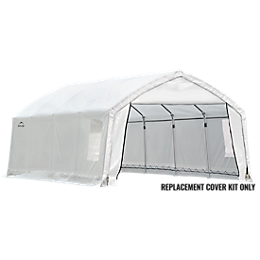 Replacement Cover for the AccelaFrame HD Shelter 12 x 20 x 9 STD ClearView