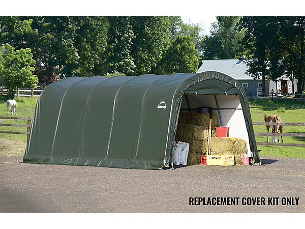Shelterlogic Replacement Cover Kit : Replacement cover kit for the garage in a box roundtop
