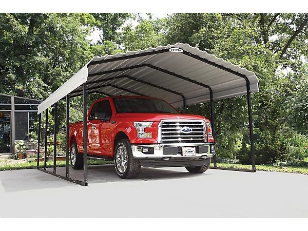 12 X14 Metal Shelters : Arrow ft carport