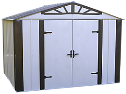 Designer™ Series 10 ft. x 8 ft. Steel Storage Shed