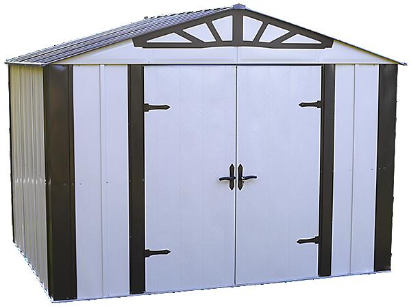 Designer™ Series 10 ft. x 8 ft. Steel Storage Shed
