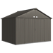 EZEE Shed 10 x 8 ft. Storage Shed in Charcoal