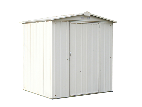 EZEE Shed 6 x 5 ft. Storage Shed in Cream