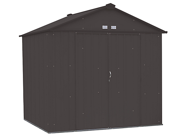 EZEE Shed 8 x 7 ft. Storage Shed in Charcoal