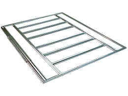 Admiral™ & Viking® Sheds Floor Frame Kit 10x7 (swing doors)