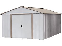 Oakbrook 10 ft. x 14 ft. Steel Storage Shed